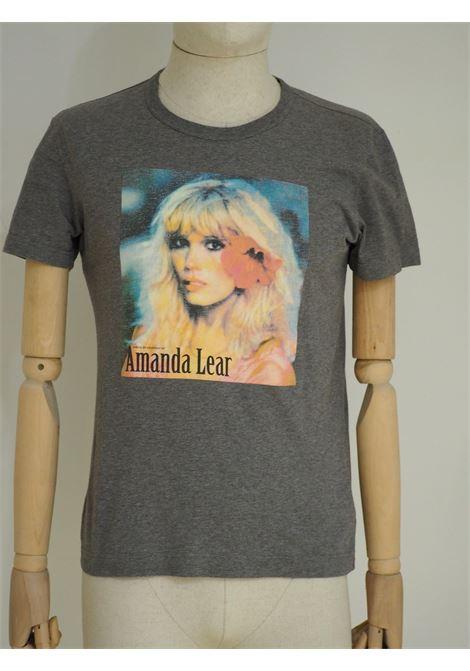 Dolce & Gabbana grey Amanda Lear cotton t-shirt Dolce&Gabbana | T-Shirts | VXRAMANDAAMANDA