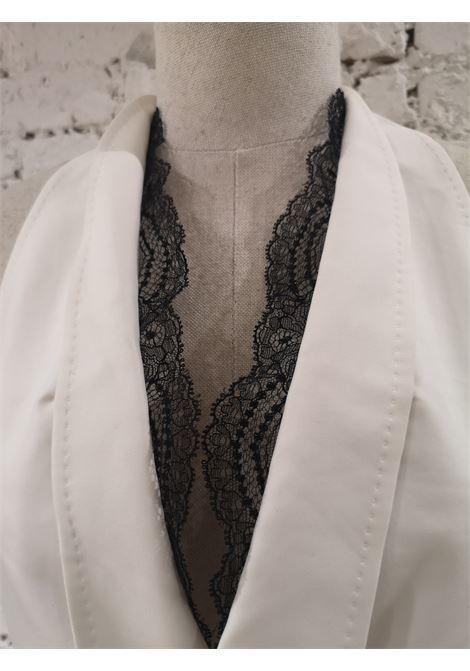 Dsquared2 white black lace vest DSQUARED2 | Tops | AM05A050PLBIANCO NERO