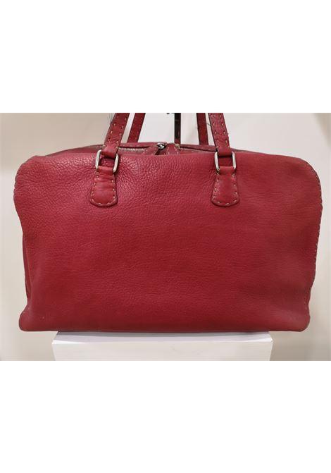 Fendi Red leather handbag Fendi | Borsa | AM01A0150FTROSSA