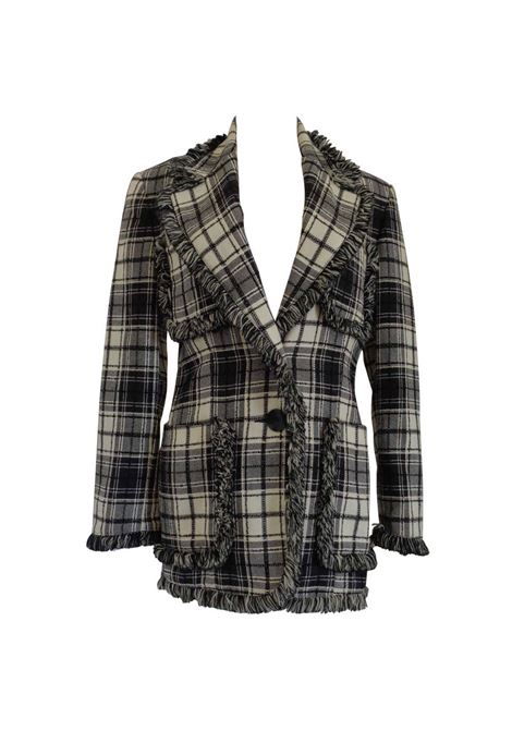 Oaks by Gianfranco Ferre Black & White Jacket Gianfranco Ferre | Jackets | VXR017049B.NERO