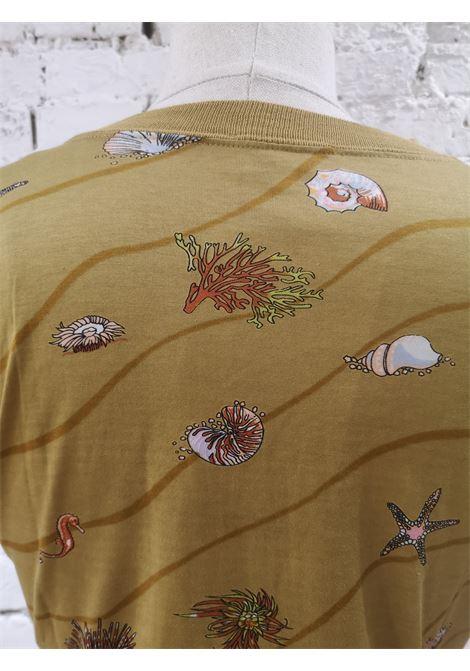 Versace white multicoloured t-shirt Hermes | T-Shirts | AMGV0172002SENAPE