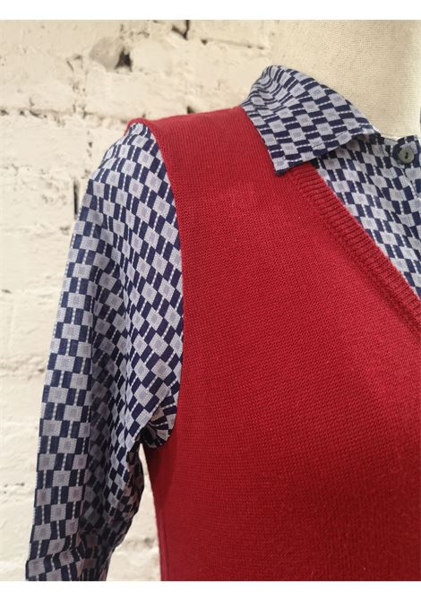 Miu Miu red and blue shirt - sweater Miu Miu | Shirts | VXR1711BEIJE