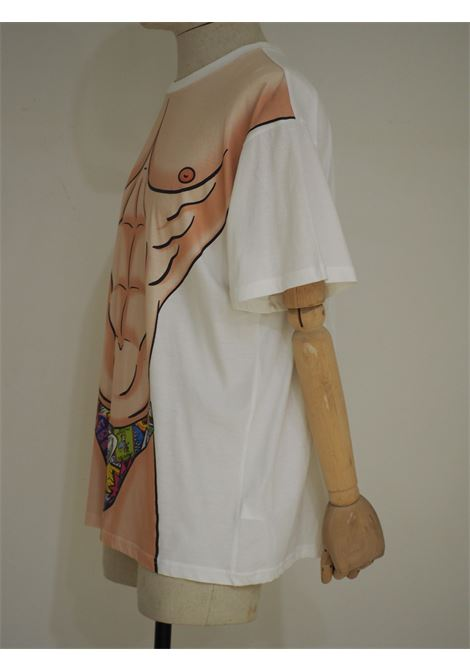 Moschino cotton t-shirt Moschino | T-Shirts | VXR017013CELESTE