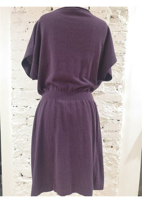 Moschino wool purple dress Moschino | Abito | VXR017037FARFALLE