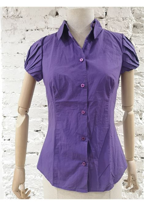 Moschino purple cotton shirt Moschino | Shirts | VXR1741VIOLA
