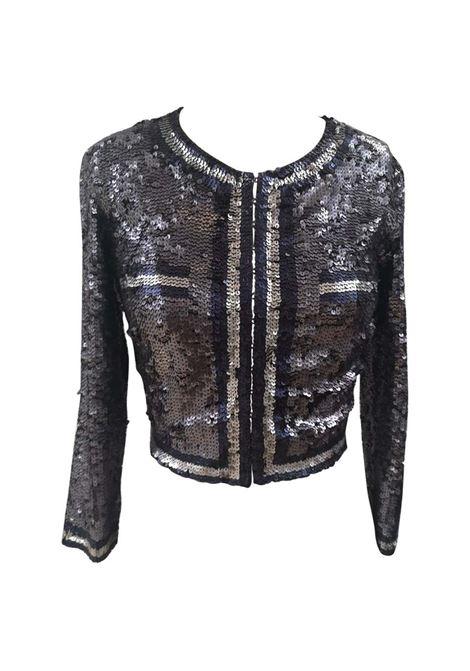 Parosh blue silver sequins jacket  P.a.r.o.s.h | Jackets | PAIETTESBLU ARGENTO