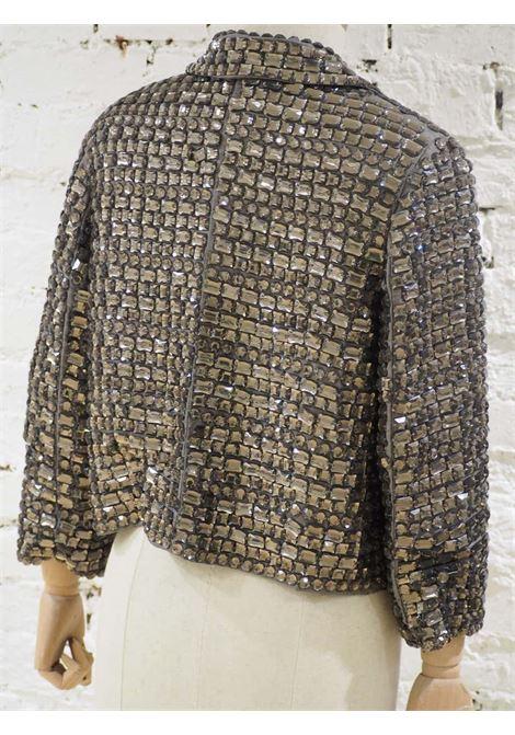 Parosh blue silver sequins jacket  P.a.r.o.s.h | Jackets | PAIETTESGRIGIO