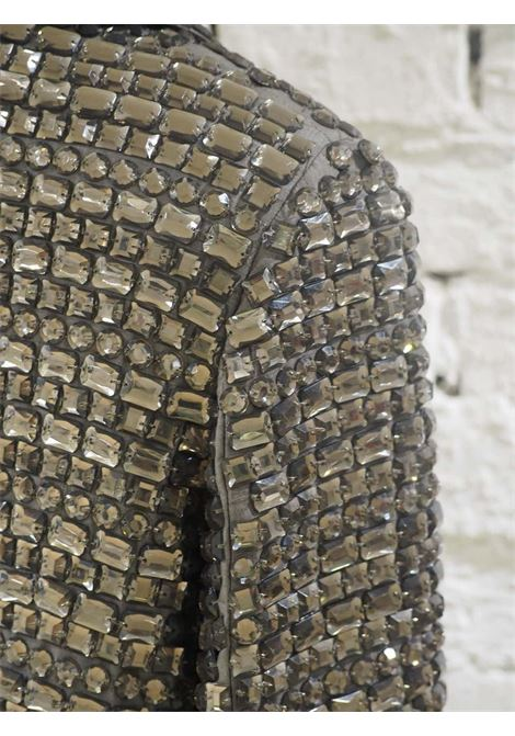 Parosh blue silver sequins jacket P.a.r.o.s.h | Giacca | PAIETTESGRIGIO