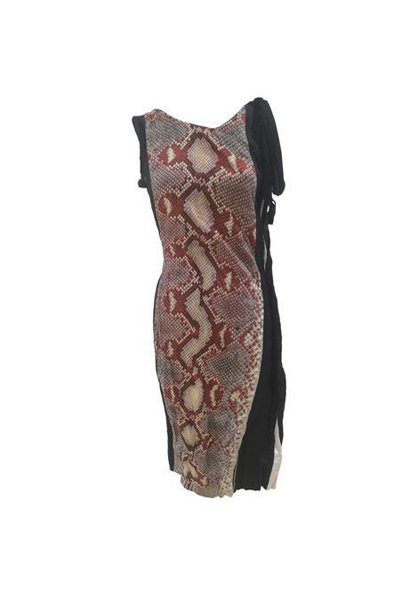 Prada Duchesse Antique Dress Snake print dress Prada | Abito | BF02X0150EVNERO