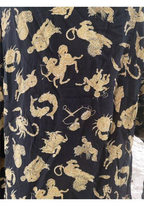 Salvatore Ferragamo black zodiac signs t-shirt Salvatore Ferragamo | T-Shirts | AMGV017320130NERO