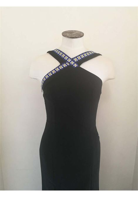 Versace Black Long Dress Versace | Dresses | FDG0170150LUNGO