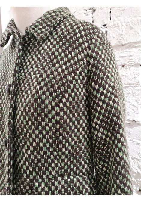 King Louie green wool coat VIntage | Jackets | LBCAPPOTTO03A0100AWVERDE
