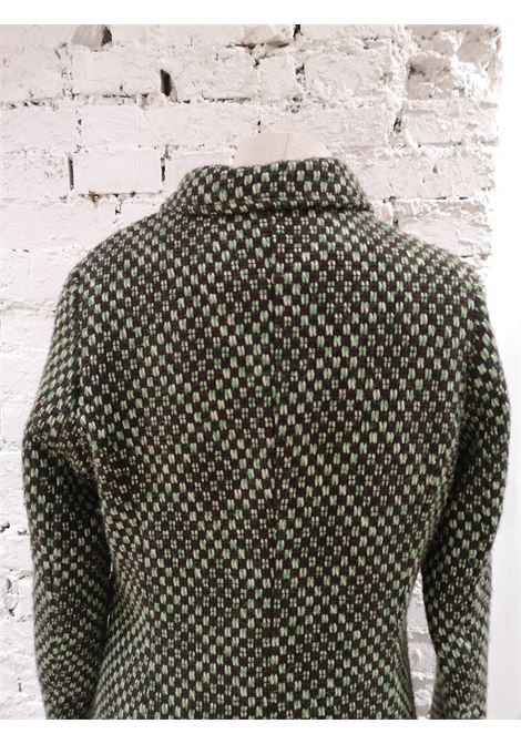 King Louie green wool coat VIntage | Giacca | LBCAPPOTTO03A0100AWVERDE