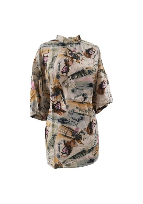 Vintage multicoloured silk shirt VIntage | Shirts | VXR1728NERO