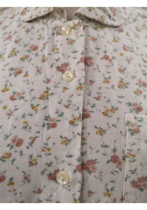Vintage white flowers cotton shirt VIntage | Shirts | VXR173FIORI