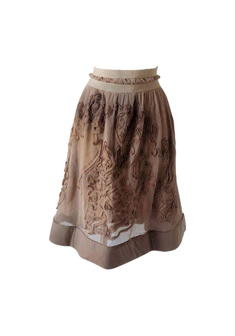 1980s Philosophy by Alberta Ferretti light brown / nude skirt NWOT Alberta Ferretti | Skirts | VXR016015BEIJE