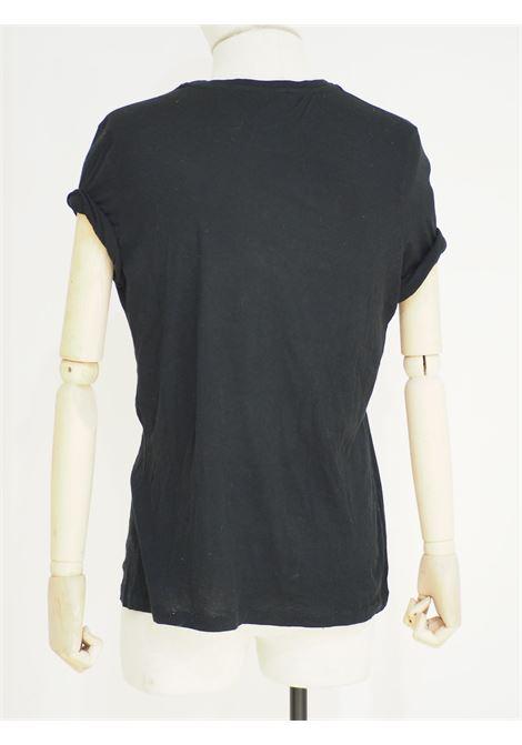 Alexander McQueen Black skull cotton t-shirt Alexander McQueen | T-Shirts | MAGLIA TESCHIONERO