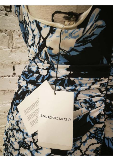 Balenciaga multicoloured Viscose Dress NWOT Balenciaga | Abito | BF01880XXBLU MULTI