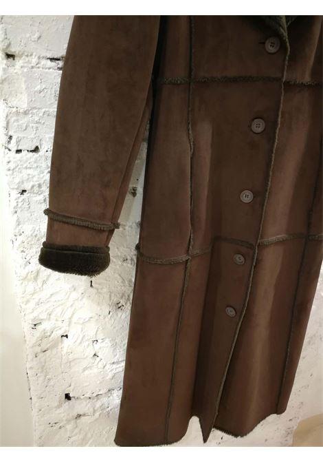 Balmain Long Brown Coat Balmain | Coats | VXR01811S0CPL-
