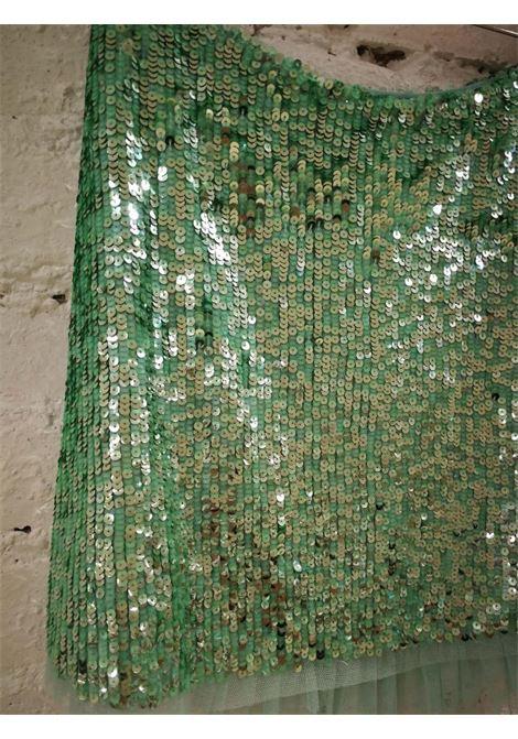BluGirl Green Sequins Skirt BLUMARINE | Skirt | AM01830XPLPAIETTES