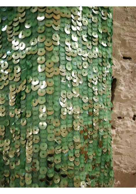 BluGirl Green Sequins Skirt Blumarine | Gonna | AM01830XPLPAIETTES