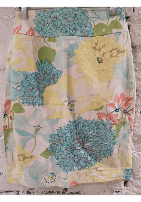 Burberry flower cotton skirt Burberry | Gonna | VXR0160234FIORI