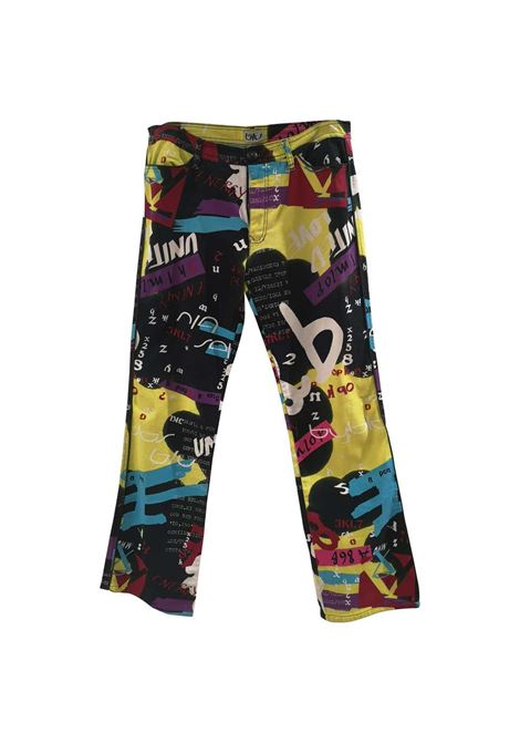 Blu Byblos multicoloured pants Byblos | Trousers | L018NMULTI