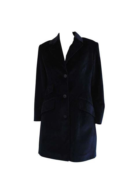 1980s Jc De Castelbajac Blu Velvet Coat J.C. de Castelbajac | Coats | VXR0160408BLU