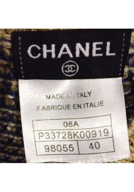 Chanel wool multicolour dress Chanel | Abito | MN01850XSZ0LANA