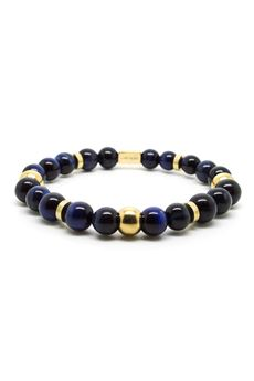 CHEVALIER PROJECT | Bracelet | B119BLUE GOLD