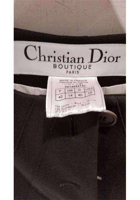 1990s Christian Dior black jacket CHRISTIAN DIOR | Jacket | VXR016068NERO