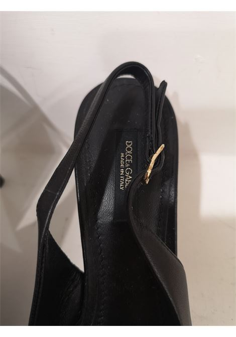 Dolce & Gabbana black leather decollete / shoes Dolce&Gabbana | Scarpe | AV01850XSADEC