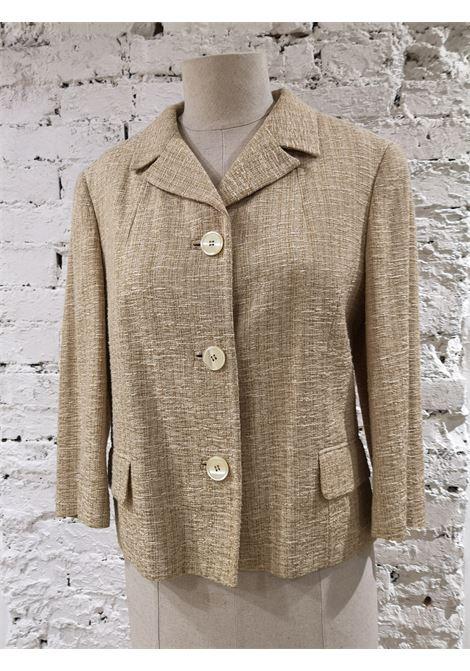 Dolce & Gabbana beige cotton jacket Dolce&Gabbana | Jackets | BL01850XVSCRTBEIJE