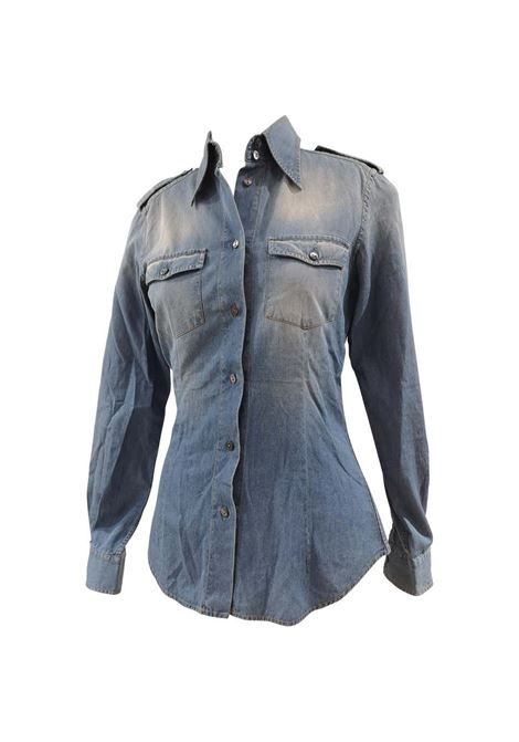 Dolce & Gabbana cotton denim shirt Dolce&Gabbana | Shirts | EC0185SXOLKDENIM