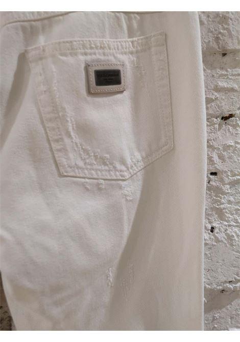 Dolce & Gabbana White Denim Dolce&Gabbana | Trousers | SI01740EXBIANCHI