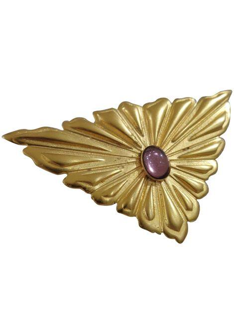 Emilio Pucci gold tone purple stone brooch - pin Emilio Pucci | Spilla | JC0170450ORO