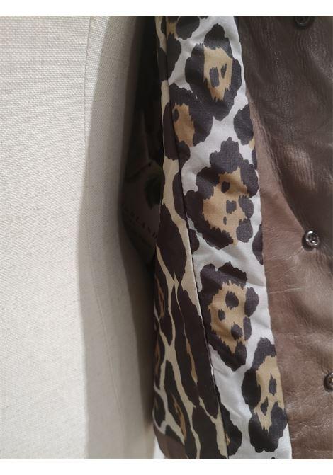 Ermanno Scervino Brown leather jacket Ermanno Scervino | Jackets | BL01815X0SQPELLE