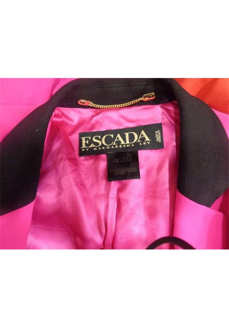 Escada by Margaretha Ley Fucsia Wool Jacket Escada | Jacket | VXR0160134MULTI