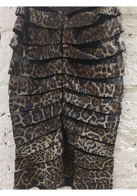 Gianfranco Ferrè cheetah see through skirt Gianfranco Ferre | Gonna | VXR0160217CHEETAH