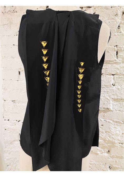 Givenchy black silk shirt / vest Givenchy | Tops | VXR01840EXNERO