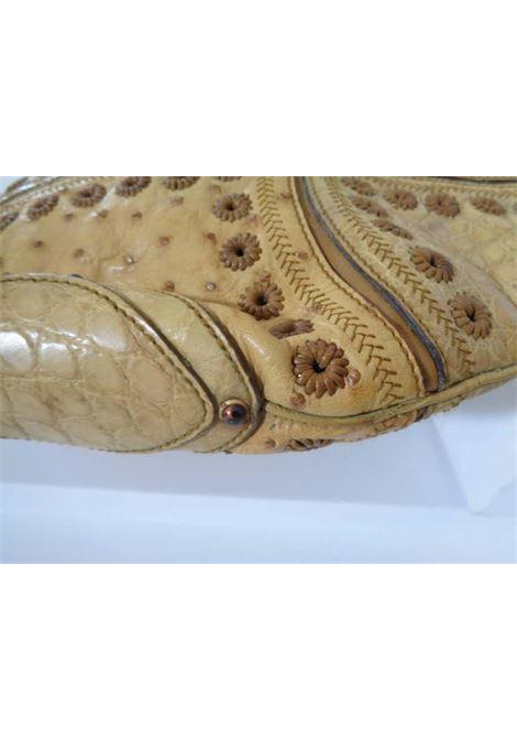 Gucci Ostrich Croco Patchwork Rare Bag gucci | Bag | STRUZZO COCCOBEIGE