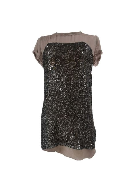 Hoss grey sequins silk mini dress Hoss | Abito | EC018100XSAQ-