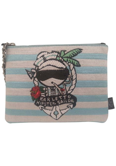 House of muamua Karletto hipster sailor zip pochette House of Muamua | Borsa | ZIP SMALLKARL HIPSTER