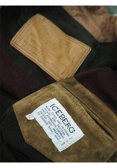 Iceberg suede coat Iceberg | Jackets | VXR016114MARRONE