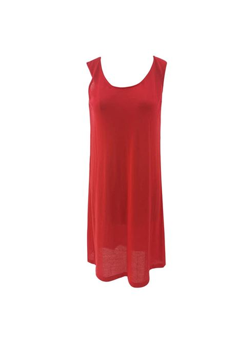 Jil Sander Red Dress Jil Sander | Abito | BF01860XOLROSSO