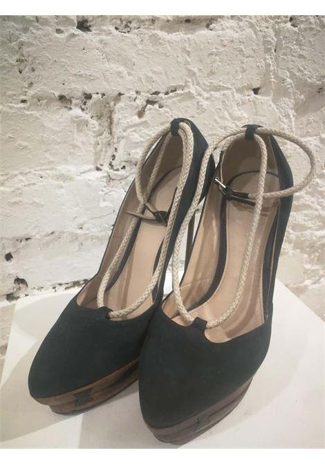 Jil Sander Suede Decollete Jil Sander | Shoes | BF01880SSSTACCO