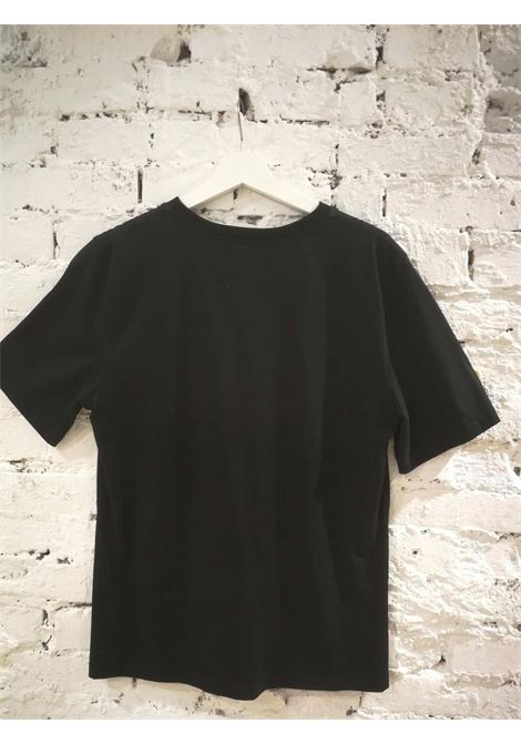 Laurence and Chico Black Cotton T-Shirt Laurence & Chico | Maglia | C001BLACK