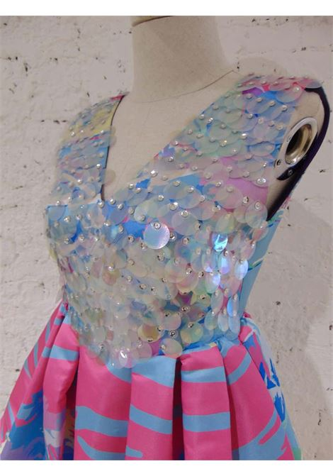 Leitmotiv multicoloured sequined dress Leitmotiv | Dresses | TCS0184550CELESTE