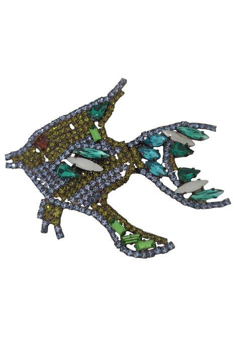 LisaC Swarovski stones fish brooch Lisa C. Bijoux | Brooches | ANGURIABRO