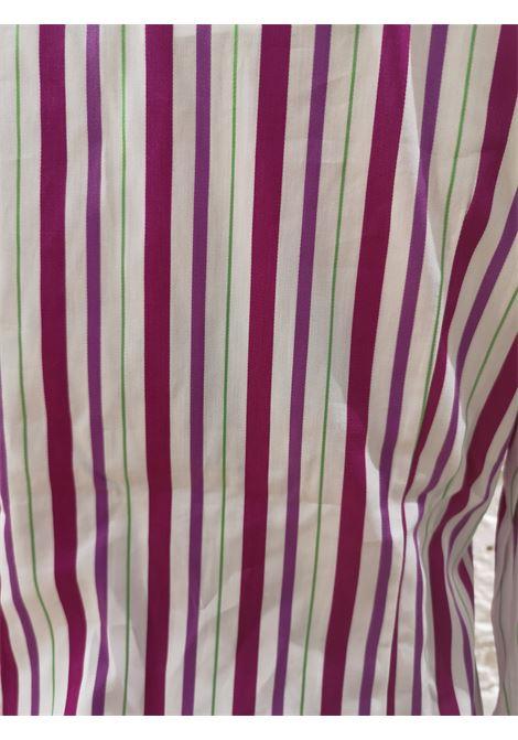 Loro Piana White Fucsia Shirt Loro Piana | Camicia | AMS01850POKRIGHE